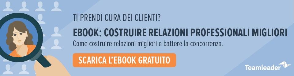 customer centricity aziende italiane PMI
