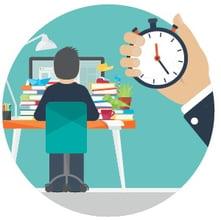 calcolatore ore lavorate, programma tracciamento del tempo, gestione ore lavorate
