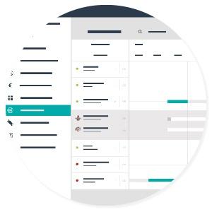 Teamleader nuova funzione di pianificazione - visione accurata dei progetti