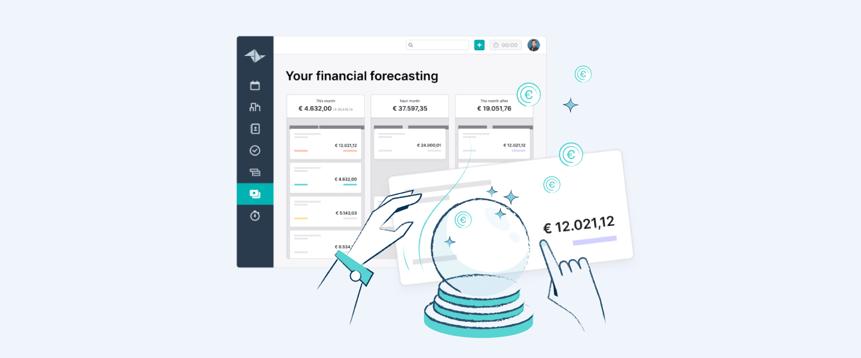Prevedi le tue entrate con le previsioni finanziarie di Teamleader