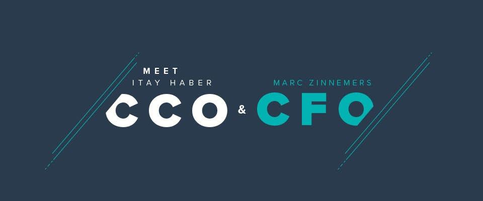 Itay Haber (CCO) e Marc Zinnemers (CFO) si uniscono al top management di Teamleader